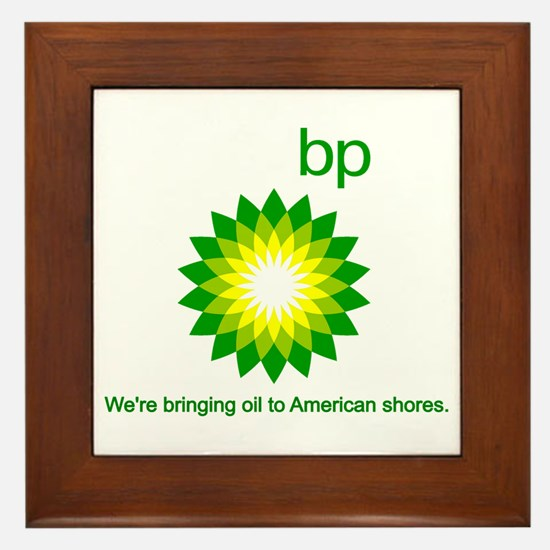 BP Oil... Spill Framed Tile