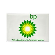 BP Oil... Spill Rectangle Magnet