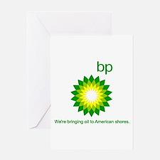 BP Oil... Spill Greeting Card