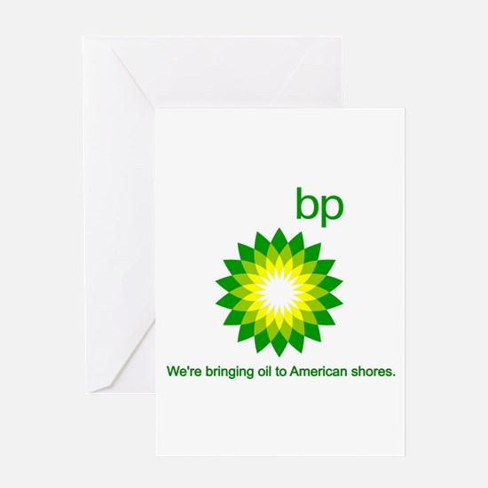 BP Oil... Spill Greeting Card