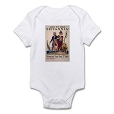 Woman's Land Army of America Infant Bodysuit