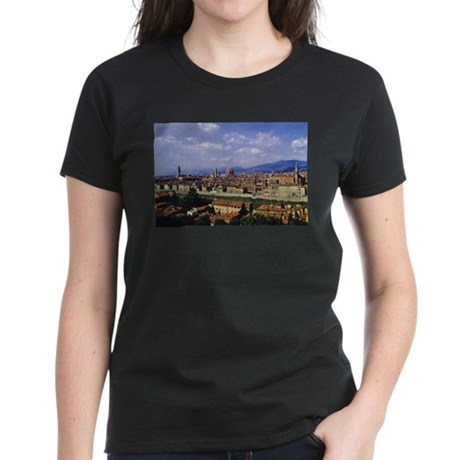 Postcard from Florence Women's Dark T-Shirt