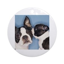 French Bulldog Secret Ornament (Round)