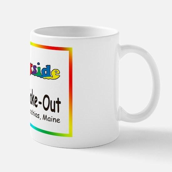 2-Logo_rainbow1 copy Mugs