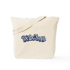 We The People (Blue) Tote Bag