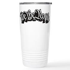 We The People (Black) Travel Mug