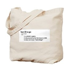 Funny Diego Tote Bag