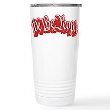 We The People (Red) Travel Coffee Mug
