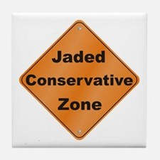 Jaded Conservative Tile Coaster