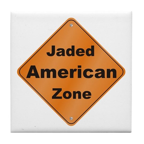 Jaded American Tile Coaster