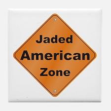 Jaded American Tile Coaster