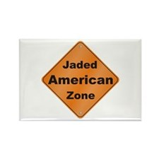 Jaded American Rectangle Magnet