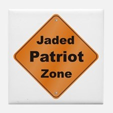 Jaded Patriot Tile Coaster