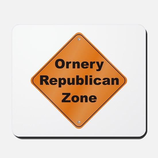Ornery Republican Mousepad
