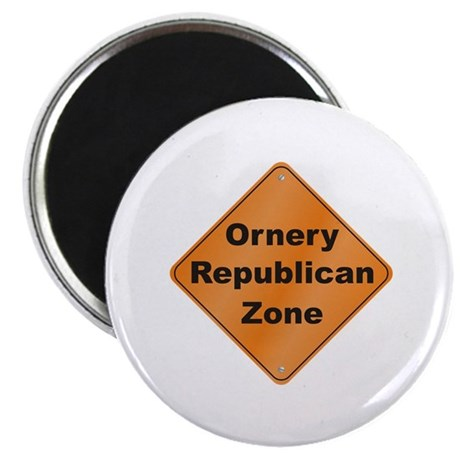 "Ornery Republican 2.25"" Magnet (100 pack)"