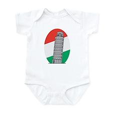 Italy Leaning Tower Of Pisa Infant Bodysuit
