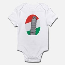 Italy Leaning Tower Of Pisa Infant Bodysuit