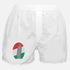 Italy Leaning Tower Of Pisa Boxer Shorts