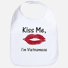 Kiss me, I'm Vietnamese Bib