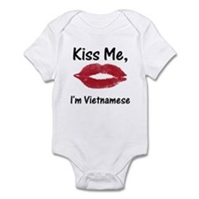 Kiss me, I'm Vietnamese Infant Creeper