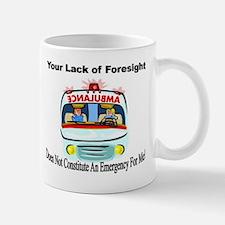 Social Work Emergency Mugs
