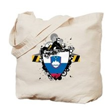 Deejay In Slovenia Tote Bag
