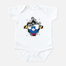 Deejay In Slovenia Infant Bodysuit