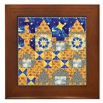 Blue Castle Framed Tile