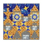 Blue Castle Tile Coaster