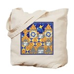 Blue Castle Tote Bag
