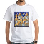 Blue Castle White T-Shirt