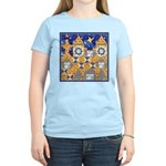 Blue Castle Women's Pink T-Shirt