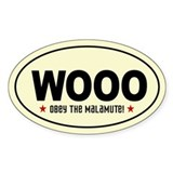 Malamute stickers Single