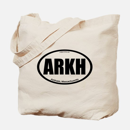 Arkham auto badge Lovecraft Tote Bag