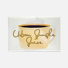 Urban Jungle Juice Coffee Des Rectangle Magnet