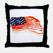 Cute Bacon Throw Pillow