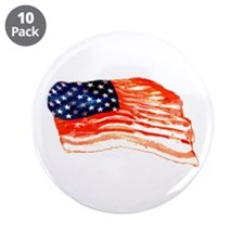"Cute Bacon 3.5"" Button (10 pack)"