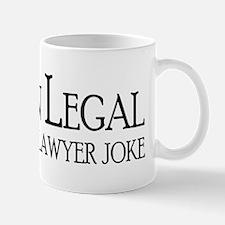 44 Legal Joke Mugs