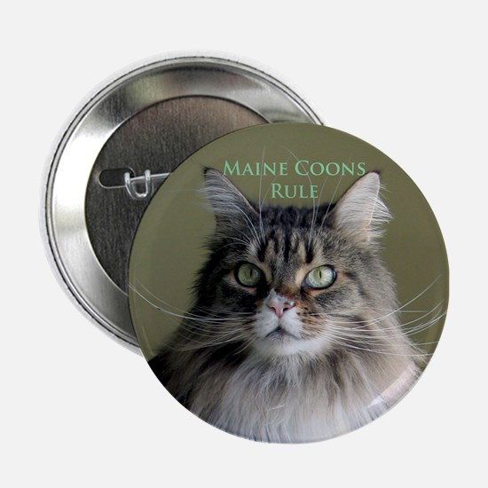 """Maine Coons Rule"" Button"