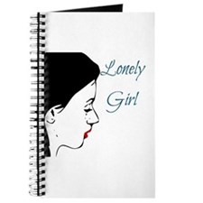 Anti Valentine's Day LONELY GIRL Journal
