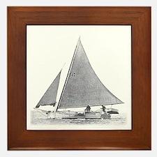 Chesapeake Bay Skipjack Framed Tile