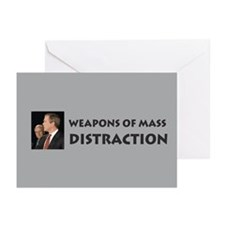 Mass Distraction Greeting Cards (Pk of 10)