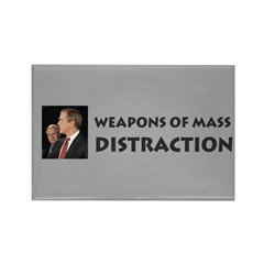 Mass Distraction Rectangle Magnet (100 pack)