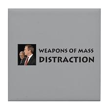 Mass Distraction Tile Coaster