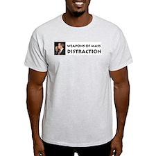 Mass Distraction Ash Grey T-Shirt