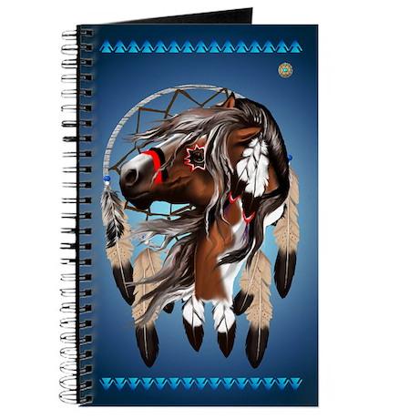Paint Horse Dreamcatcher Journal