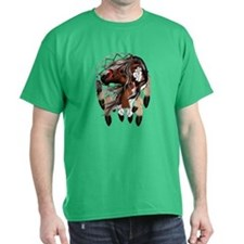 Paint Horse Dreamcatcher T-Shirt