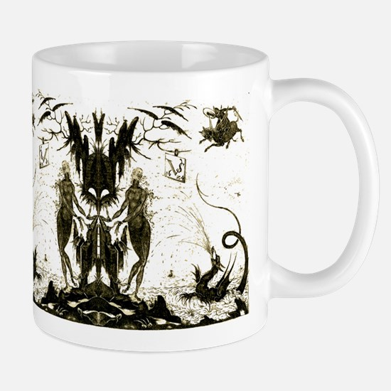 Nude and Dragons Mug