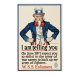 I Am Telling You Postcards (Package of 8)