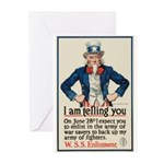 I Am Telling You Greeting Cards (Pk of 10)